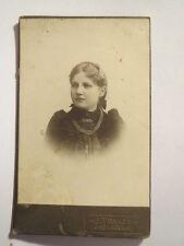 Inowroclaw - Inowrocław - Frau im Kleid - Portrait / CDV