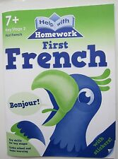 French activity book children 7 + stickers home learning teacher français France