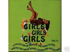 V.A. - GIRLS, GIRLS, GIRLS Vol.13 Rare CD on Marginal