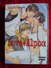 LOVE + ALPHA MANGA 801 MEDIA  BRAND NEW PARENTAL ADVISORY