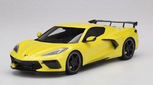 1/18 Top Speed Chevrolet Corvette C8 Stingray 2020  in Yellow TS0286. KK