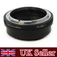 Canon FD Lens to Sony E NEX Adapter A6500 A5100 A6000 A7 A7II A7S 5T 5N 3N 6 7