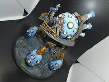 Warmachine Painted Cygnar Storm Strider Battle Engine