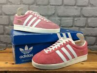ADIDAS GAZELLE VINTAGE PINK SUEDE TRAINERS CHILDRENS LADIES RRP £89 T