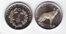 Turchia Turkey 1 lira  Iena 2014  bimetallica  FDC  KM nuova