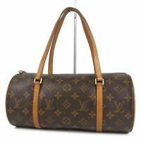Auth LOUIS VUITTON M51385 Monogram Papillon 30 Hand Bag France 12093bkac