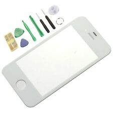 16pcs/2sets White Front Screen Glass Lens Repair Replacement  for iPhone 4G 4S 4