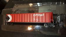 Intermountain  CP Rail bathtub coal gondola red