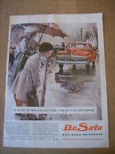 DeSoto Magazine Ad - Designed to Eudure
