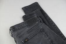 LEE LUKE Men's W34/L32 Zip Fly Slim Fit Grey Jeans 18668_mm