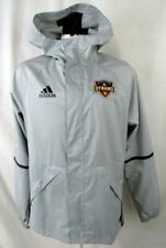 Houston Dynamo Mens Small Full Zip Hooded Windbreaker Jacket HDY 3