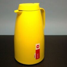 Emsa Thermos Jug Coffee Pot Teapot  1.5 L  Yellow German Import US Seller