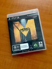 PS3 - Metro Last Light - Good Condition Including Manual