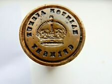Hainton Avenue, Grimsby postal philatelic seal for wax ANTIQUE 83/27 mm tactile