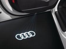 Audi A3 A4 A5 A6 Q3 Q5 Q7 LED Audi Rings Door Puddle Lights 4G0052133G
