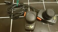 Atari 2600 Video Game Pair Of Original Paddles Tested Jitter Free