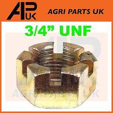 "Fordson Dexta & Super Dexta Ford Tractor Front Hub Spindle Nut 3/4"" UNF"