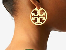 Tory Burch Women's Metallic Miller Hoop Earrings