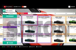 Forza Horizon 4 Modded Accounts Series 14 (All rares x3) OFFLINE