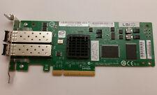 IBM LSI Dual Port 4GB HBA PCI-e Low Profile Bracket LSI7204EP-LC 45W0421 w/ SFPs