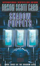 Shadow Puppets: Book 3 of the Shadow Saga, Card, Orson Scott , Acceptable | Fast