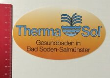 Aufkleber/Sticker: Therma Sol - Gesundbaden In Bad Soden-Salmünster (090416127)