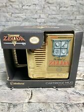 Paladone Nintendo Legend of Zelda NES Gold Cartridge Coffee Mug Gold