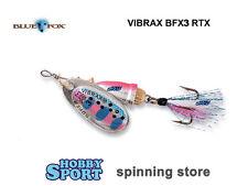 CUCCHIAINO ROTANTE  VIBRAX FOXTAIL N° 3 GR 8  COL. RTX - BFX3 BLUE FOX