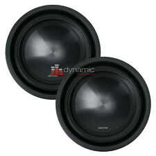 """Two (2) ALPINE SWT-10S2 Car 10"""" SWT Series Single 2-ohm Shallow Mount Truck Subs"""