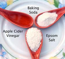 Uses for Vinegar, Salt, Baking Soda eBooks in PDF on CD FREE SHIPPING