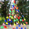 Mix Color 80M Triangle Flags Bunting Banner Pennant Festival Wedding Party Decor
