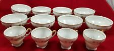 "Vintage Empress China Japan ""Symphony"" 8 Tea Cups And 4  Demitasse Cups  #1152"