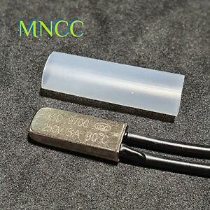KSD-9700M 250V 5A N/C 90℃ Thermostat Bi Metal Thermal Temp Controller Switch