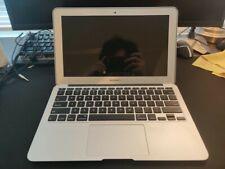 "Apple MacBook Air A1370 11.6"" Laptop - (Mid, 2011) 128GB SSD+4GB RAM Works good!"