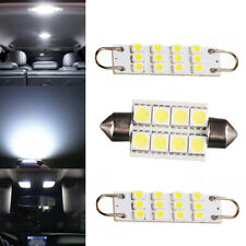 3x White LED Interior Map Dome Lights Bulbs for 88-98 Chevy Silverado GMC Sierra