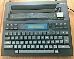 Casiowriter CW-10 Classic Electronic Typewriter