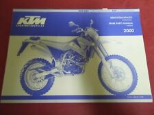 SPARE PARTS MANUAL CHASSIS KTM 400/620 SUPER COMPETITION/620 SC SUPER MOTO 2000