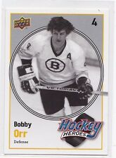 MINT! 2010-11 UPPER DECK SERIES 2 HOCKEY HEROES NO. HH13 BOBBY ORR BRUINS