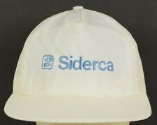Siderca Steel Tube Producer Argentina White Baseball Hat Cap Adjustable