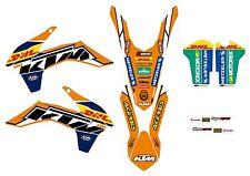 KTM GRAFICHE STICKERS DHL BLACK EXC 2014 2015 SX 2013 2014 VARI ANNI E MODELLI