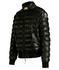 Parajumpers Lammleder PJS Jacke Leather Jacket Schwarz - S M Winter Leder Jacke