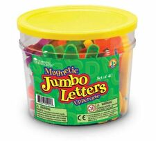 Learning Resources Jumbo Magnetic Uppercase Letters (40-Piece), New