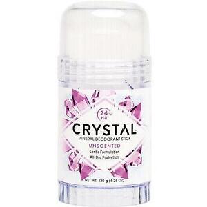 CRYSTAL Deodorant Stick Fragrance Free 120g