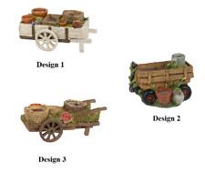 Ganz E9 Garden Wheel Barrow Planter 8in Er50246 Choose Design