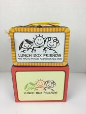 Lunch Box Friends Picture Frame and Storage Box 4x6 Gift Teacher Too Much Fun