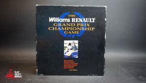 Williams Renault Grand Prix Championship Domark 1994 BoardGame