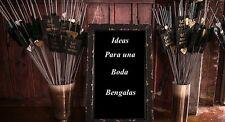 Bengalas para fiestas celebraciones y eventos bodas decoración despedidas