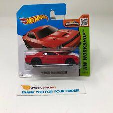 #6  '15 Dodge Challenger SRT #235 * RED * 2015 Hot Wheels * G11