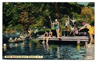 Water Sports at Soper's, Windham, NY Postcard *5N12