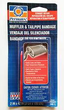 Permatex Schalldämpfer Endrohr Bandage 80331 Auspuff Reparatur 5X106cm